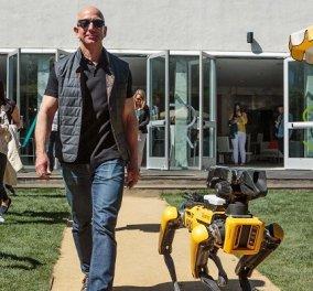 Αυτό είναι γιοτ μεγαθήριο! 127 μέτρα το σκάφος του Jeff Bezos με ελικοδρόμιο και κόστος 500 εκ δολάρια (βίντεο) - Κυρίως Φωτογραφία - Gallery - Video