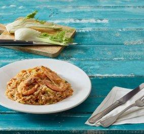 Η Αργυρώ Μπαρμπαρίγου μαγειρεύει Κριθαρότο με γαρίδες - Μυρίζει θάλασσα   - Κυρίως Φωτογραφία - Gallery - Video