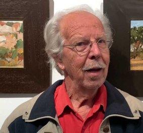 «Έφυγε» από την ζωή τα ξημερώματα ο διακεκριμένος Έλληνας ζωγράφος Γιώργος Δρίζος - Κυρίως Φωτογραφία - Gallery - Video