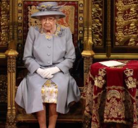 Βασίλισσα Ελισάβετ: Ο πρώτος της λόγος στη Βουλή των Λόρδων, μετά τον θάνατο του Πρίγκιπα Φίλιππου - Με μωβ σύνολο & κίτρινα λουλούδια (φωτό - βίντεο)  - Κυρίως Φωτογραφία - Gallery - Video