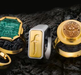 Made in Greece 21 δαχτυλίδια - σφραγίδες αριστουργήματα του οίκου Ζolota - Όλα για άντρες, με έμπνευση τα 200 χρόνια από το 1821 - Κυρίως Φωτογραφία - Gallery - Video