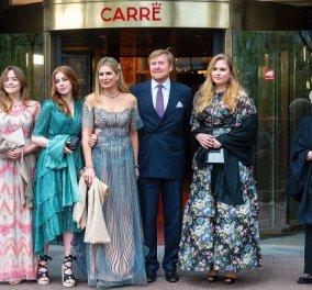 Ένα κοντσέρτο για την βασίλισσα: Με illusion τουαλέτα η Μάξιμα, λίγο πριν τα 50α της γενέθλια - Τι φόρεσαν οι τρεις πριγκίπισσες της (φωτό) - Κυρίως Φωτογραφία - Gallery - Video