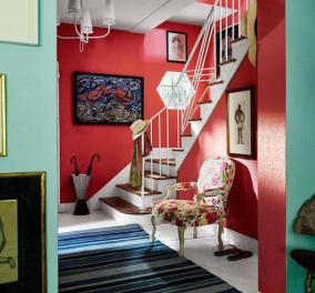 Σπύρος Σούλης: Αυτές είναι οι καλοκαιρινές τάσεις στα χρώματα του τοίχου - Μπλε, πράσινοι & για τους πιο τολμηρούς κόκκινοι - Κυρίως Φωτογραφία - Gallery - Video