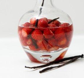 Απολαυστικό λικέρ φράουλα από τον Στέλιο Παρλιάρο: Δοκιμάστε το και σε κοκτέιλ! - Κυρίως Φωτογραφία - Gallery - Video