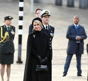 Fashion Idol η βασίλισσα Μαξίμα - Με total black - Massimo Dutti σύνολο πιο elegant από ποτέ! (φώτο) - Κυρίως Φωτογραφία - Gallery - Video