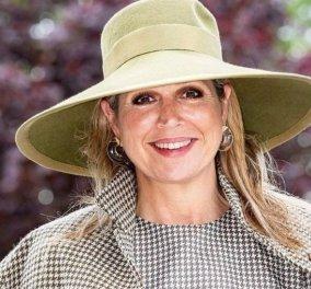 Η βασίλισσα Μάξιμα της Ολλανδίας όπως δεν την έχετε ξαναδεί: Με σκούπα - φαράσι & ξεσκονόπανο (φώτο) - Κυρίως Φωτογραφία - Gallery - Video