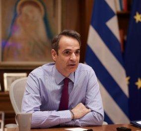 Κυρ. Μητσοτάκης στους «FT»: Εστίαση και λιανεμπόριο λειτουργούν, θα ανοίξουμε με ασφάλεια (βίντεο) - Κυρίως Φωτογραφία - Gallery - Video