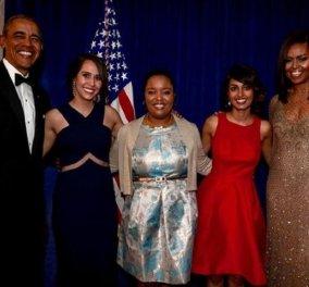 """Μισέλ Ομπάμα για τις κόρες της: """" Φοβάμαι κάθε φορά που βγαίνουν μόνες τους"""" - Η πρώην Πρώτη Κυρία για το ρατσισμό στις ΗΠΑ (φώτο) - Κυρίως Φωτογραφία - Gallery - Video"""
