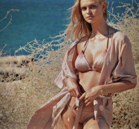 Mitos Swimwear: Απίθανα Made in Greece μαγιό & beachwear για το καλοκαίρι - Μπικίνι, ολόσωμα, kimono και φορέματα (φωτό) - Κυρίως Φωτογραφία - Gallery - Video