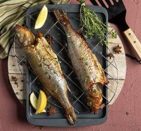 Άκης Πετρετζίκης: Ένα τέλειο πιάτο με ψάρι - Καπνιστό λαβράκι που θα σας τρελάνει - Κυρίως Φωτογραφία - Gallery - Video