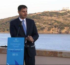 """Aνοίγουμε πανιά"" : Live η ομιλία του Χάρη Θεοχάρη για το άνοιγμα του τουρισμού  - Κυρίως Φωτογραφία - Gallery - Video"