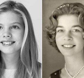 Η απίθανη ομοιότητα της πριγκίπισσας Σοφίας με την πριγκίπισσα Ειρήνη: Ίδια με την αδερφή του Κωνσταντίνου η κόρη της βασίλισσας Λετίσια (φωτό) - Κυρίως Φωτογραφία - Gallery - Video