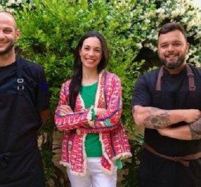 Ο executive chef Νίκος Θωμάς με Κρητική Bistronomie & Fine dining στο εστιατόριο του Kapsaliana Village Hotel (φωτό & βίντεο) - Κυρίως Φωτογραφία - Gallery - Video