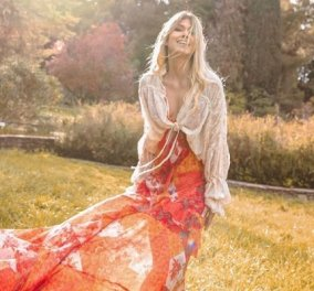Boho αισθητική, αέρινα υφάσματα, απίθανα χρώματα: Τα ρούχα της Βάσιας Κωσταρά είναι αυτό που ψάχνουμε για το φετινό καλοκαίρι (φωτό) - Κυρίως Φωτογραφία - Gallery - Video