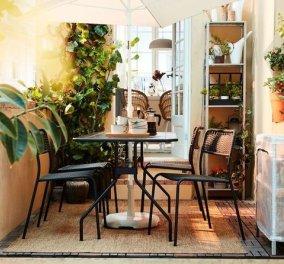 Τραπεζάκια έξω: 10 design έπιπλα & αξεσουάρ που θα μεταμορφώσουν το μικρό σας μπαλκόνι  σε θερινή όαση (φώτο) - Κυρίως Φωτογραφία - Gallery - Video