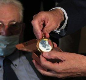 Ο εγγονός του  Ελευθέριου Βενιζέλου δώρισε στη Βουλή το χρυσό ρολόι του παππού του  (φώτο) - Κυρίως Φωτογραφία - Gallery - Video