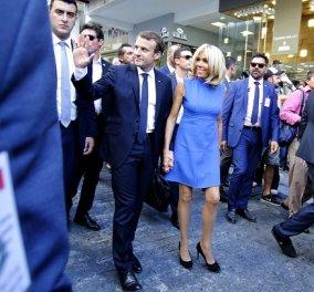 Οι Macron επιστρέφουν στην Ελλάδα! Η Brigitte & ο Emmanuel στα Χανιά - διακοπές & εργασία (φωτό & βίντεο) - Κυρίως Φωτογραφία - Gallery - Video