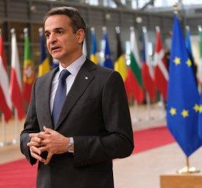 Στη Σύνοδο του ΝΑΤΟ ο πρωθυπουργός: Σήμερα η κρίσιμη συνάντηση Μητσοτάκη - Ερντογάν στις Βρυξέλλες (βίντεο) - Κυρίως Φωτογραφία - Gallery - Video