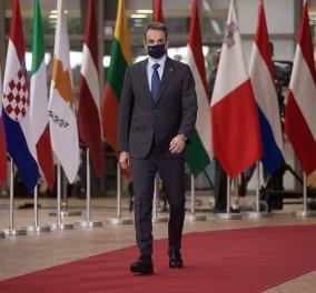 Μητσοτάκης από Βρυξέλλες: Εξαιρετικά σύνθετες οι προκλήσεις για το ΝΑΤΟ - Πυλώνας σταθερότητας η Ελλάδα (βίντεο) - Κυρίως Φωτογραφία - Gallery - Video