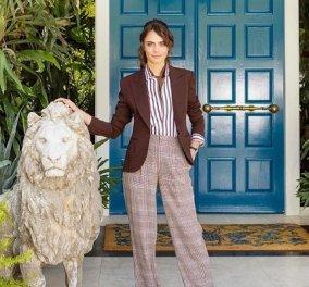 Μέσα στο φανταστικό σπίτι της Cara Delevingne στο Λος Άντζελες: Πληθωρικό & μαξιμαλιστικό - «καζίνο», τραμπολίνο, μπαρ... έχει τα πάντα (φωτό & βίντεο) - Κυρίως Φωτογραφία - Gallery - Video