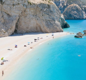 #Greek summer 2021: Ο @Antrikos Koutroumanis μας παρουσιάζει τα μαγικά καταγάλανα νερά της παραλίας Πόρτο Κατσίκι στην Λευκάδα- Οι Έλληνες φωτογράφοι προτείνουν - Κυρίως Φωτογραφία - Gallery - Video