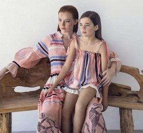 Τα made in Greece καφτάνια & φουστάνια της Devotion είναι για την μαμά & για την κόρη! - καλοκαιρινές δημιουργίες με άρωμα Ελλάδας (φωτό) - Κυρίως Φωτογραφία - Gallery - Video