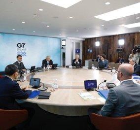 G7 από Κορνουάλη: 1 δισ εμβόλια σε 92 φτωχότερες χώρες του πλανήτη - η δεύτερη μέρα στη σύνοδο κορυφής των 7 πλουσίων (φωτό & βίντεο) - Κυρίως Φωτογραφία - Gallery - Video