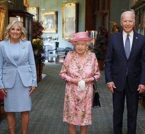 Ο Joe & η Jill Biden ήπιαν τσάι με την βασίλισσα Ελισάβετ: Μέσα σε 70 χρόνια έχει συναντήσει 11 Αμερικανούς προέδρους! - ποιοι ήταν; (φωτό & βίντεο) - Κυρίως Φωτογραφία - Gallery - Video