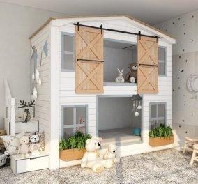 Σπύρος Σούλης: Δημιουργήστε το πιο όμορφο παιδικό δωμάτιο με αυτές τις ιδέες! - Θα γίνει ο αγαπημένος χώρος των μικρών σας  - Κυρίως Φωτογραφία - Gallery - Video