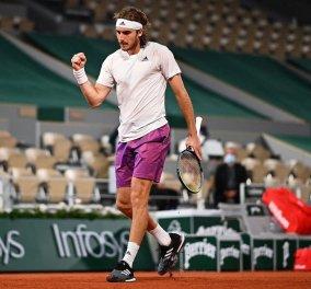 Roland Garros - Τσιτσιπάς: «Μία από τις καλύτερές μου εμφανίσεις σε χώμα» - Γράφει ιστορία ο Έλληνας τενίστας (φωτό - βίντεο) - Κυρίως Φωτογραφία - Gallery - Video