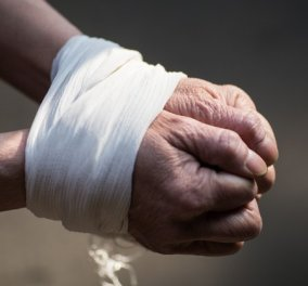 Κατερίνη: Απίστευτης αγριότητας έγκλημα - Άνδρας βρέθηκε καμένος με κουκούλα στο κεφάλι & δεμένος (βίντεο) - Κυρίως Φωτογραφία - Gallery - Video