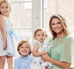 Πανευτυχής μανούλα η πριγκίπισσα Μαντλέν της Σουηδίας: Ο γιος της Νικόλαος έγινε έξι ετών - Η υπέροχη φωτογραφία του νεαρού πρίγκιπα (φώτο) - Κυρίως Φωτογραφία - Gallery - Video