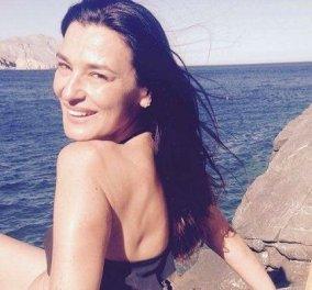 Η Μαρία Ναυπλιώτου ξεκίνησε τα μπάνια και εύχεται «καλό μήνα και καλό καλοκαιράκι» - Η φωτό με το μαγιό και θέα την θάλασσα - Κυρίως Φωτογραφία - Gallery - Video