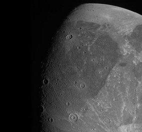 NASA: Αυτές είναι οι πρώτες κοντινές φωτογραφίες του Γανυμήδη, του μεγαλύτερου δορυφόρου του Δία & όλου του ηλιακού μας συστήματος - Κυρίως Φωτογραφία - Gallery - Video