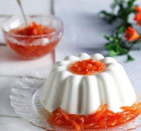 Ένα δροσερό γλυκάκι από την Αργυρώ Μπαρμπαρίγου - Πανακότα με γιαούρτι - Κυρίως Φωτογραφία - Gallery - Video