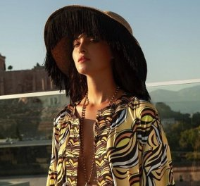 The Artians: Τα made in Greece μεταξωτά της Κωνσταντίνας με έμπνευση φέτος από τον Μινωικό πολιτισμό - Η haute couture της Ελλάδας (φωτό) - Κυρίως Φωτογραφία - Gallery - Video