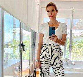 Στυλιστικά tips από την Βίκυ Καγιά: Πώς να φορέσουμε το αγαπημένο μας animal print παντελόνι από το πρωί έως το βράδυ (φωτό) - Κυρίως Φωτογραφία - Gallery - Video
