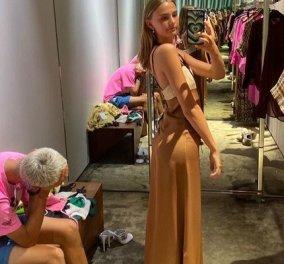 «Τα φτύσε» ο Romeo Beckham: Πήγε για ψώνια με το κορίτσι του και η Mia τον εξάντλησε! Σκυφτός στην καρέκλα ο γιος της Victoria (φωτό) - Κυρίως Φωτογραφία - Gallery - Video