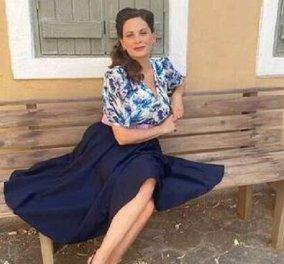 """Η Θεοφανία Παπαθωμά υποδέχθηκε τον Ιούνιο ανανεωμένη - Δύο outfits που θέλουμε να αντιγράψουμε από την """"Βιολέτα"""" (φώτο) - Κυρίως Φωτογραφία - Gallery - Video"""