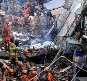 Τραγωδία στη Βραζιλία: Κατέρρευσε πολυκατοικία στο Ρίο - Νεκροί πατέρας & κόρη (βίντεο) - Κυρίως Φωτογραφία - Gallery - Video