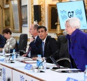 G7: Ιστορική συμφωνία για την επιβολή παγκόσμιου ελάχιστου εταιρικού φόρου 15% (φωτό) - Κυρίως Φωτογραφία - Gallery - Video