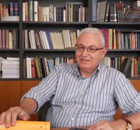 Νεκρός σε ηλικία 74 ετών βρέθηκε στο γραφείο του Ιωάννης Καζάζης - Πρόεδρος του Κέντρου Ελληνικής Γλώσσας - Κυρίως Φωτογραφία - Gallery - Video