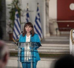 Παρασημοφορήσεις Ελλήνων πολιτών από την Πρόεδρο της Δημοκρατίας Κατερίνα Σακελλαροπούλου - Κυρίως Φωτογραφία - Gallery - Video