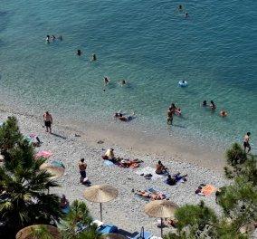 """Καιρός: Ο Αύγουστος κάνει """"ποδαρικό"""" με καύσωνα - Στα ύψη η θερμοκρασία - Φύγαμε για τις παραλίες  - Κυρίως Φωτογραφία - Gallery - Video"""