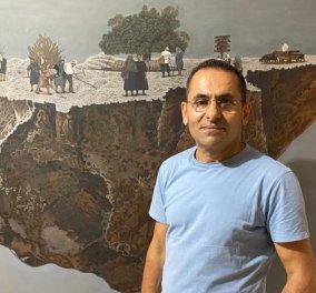 """Πολιτική θύελλα στην Κύπρο με τα """"αντισυστημικά"""" έργα του  Γιώργου Γαβριήλ - Ο εικαστικός που """"δείχνει"""" τον Πρόεδρο Αναστασιάδη γυμνό (φώτο) - Κυρίως Φωτογραφία - Gallery - Video"""