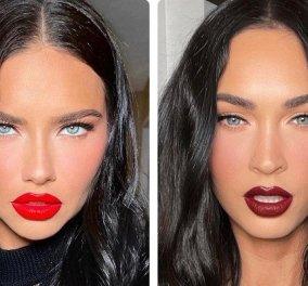 Όταν η Adriana Lima έβαλε φωτό δίπλα στην Megan Fox… έγιναν δίδυμες! Η ομοιότητα και το παρασκήνιο - Κυρίως Φωτογραφία - Gallery - Video