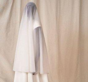 Νυφικό για καλόγριες παρουσίασε ο οίκος Balenciaga και μας άφησε άφωνους - Το πέλο καλύπτει τα πάντα (φωτό & βίντεο) - Κυρίως Φωτογραφία - Gallery - Video