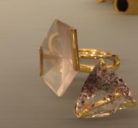 Made in Greece τα Maria Mastori: Εντυπωσιακά & υπέρκομψα κοσμήματα – statements από την μεγάλη σχεδιάστρια - Κυρίως Φωτογραφία - Gallery - Video