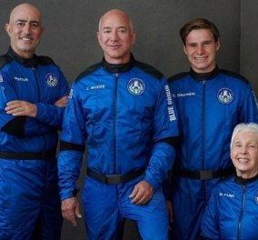 Το ταξίδι του δισεκατομμυριούχου Jeff Bezos στο Διάστημα: Πήγε & γύρισε σε 11 λεπτά - Τα βίντεο από τη πτήση του New Shepard  - Κυρίως Φωτογραφία - Gallery - Video