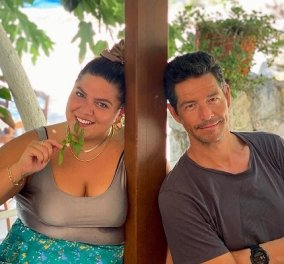 Το «δροσερό» καλοκαίρι της Δανάης Μπάρκα με την καλή παρέα του Απόστολου Ρουβά - Οι φωτό από τις χαρούμενες στιγμές τους  - Κυρίως Φωτογραφία - Gallery - Video